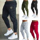 US Mens Slim Fit Tracksuit Gym Sport Skinny Jogging Joggers Sweat Pants Trousers
