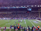 2 NEW YORK GIANTS @ NEW ENGLAND PATRIOTS  NFL TICKETS LOWER LEVEL SIDELINE