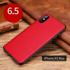 For Apple iPhone 11 Pro Max Luxury Slim Leather Back Shockproof Phone Case Cover