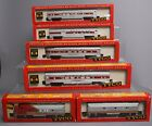 Tyco HO Santa Fe AB Diesel Locomotives & Passenger Cars/Box