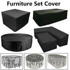 Waterproof Garden Patio Furniture Cover For Rattan Table Cube/round Seat Outdoor
