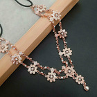 BOHO Women Metal Rhinestone Chain Jewelry Headband Head Piece Hair band