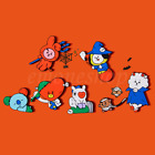 BTS BT21 Official 2019 Halloween Collection WHO'S THERE Magnet Set+ Tracking#