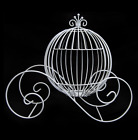 *New* LARGE Wire Cinderella Pumpkin Coach | Carriage Centerpiece - 3 Colors