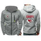 2019 Kansas City Chiefs Fans Hoodie Sporty Jacket Sweater Zip Coat Autumn Tops $15.99 USD on eBay