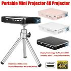 Mini Projector Portable 4K Projector with HDMI Input for Android / iOS Phones HY