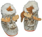 House Shoe Moose - Super Warm - Large Selection Size 23 to 43 - Lined