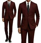 MEN'S CLASSIC FIT 2PC SUITS - BUSINESS FORMAL WEDDING PARTY - READ DESCRIPTION!