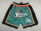 Grant Hill #33 Detroit Pistons 90's Throwback Vintage Jersey / Shorts