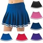 Pizzazz Girls Multi Color Pleated Uniform Skirt Youth 2-16