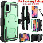For Samsung Galaxy A10e A20 A50 Shockproof Rugged Case Armor Clip Holster Cover