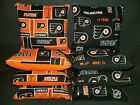 Set Of 8 Philadelphia Flyers Hockey Cornhole Bean Bags FREE SHIPPING $28.99 USD on eBay