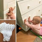 3/5/8Pcs Plastic Safety Lock Child Infant Baby Protect Cupboard Cabinet Doors