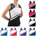 Pizzazz Girls Multi Color SuperNova Uniform Shell Top Youth 2-16