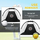 Golf Practice Driving Hit Net Cage Training Mat Aid Driver Irons w/ Free Bag US