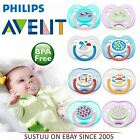 Philips Avent Orthodontic Pacifier Dummy Fashion Silicone Teat Baby Soother 0-18