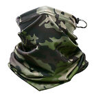 Camouflage Tactical Neck Warmer Tube Face Mask Bandana Head Military Scarf