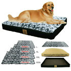 Large Deluxe Soft Pet Dog Bed Warm Pillow Cushion with Removable Washable Cover
