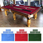 8ft Pool Table Cloth with 6 Felt Strips for Snooker Billiard Table Maintain $29.92 USD on eBay