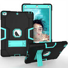 """For New iPad 10.2"""" 7th Gen Hybrid Armor Hard Rubber Case Stand Shockproof Cover"""
