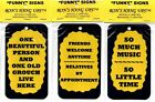 Funny Comic Humorous Sayings Signs Plaques Family Friends Coworker Gifts 2