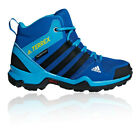 adidas Boys Terrex AX2R Mid CP Walking Boots - Blue Sports Outdoors Breathable