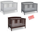Baby Crib 4 in 1 Convertible S...