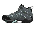 Merrell Moab 2 Mid Womens Grey Gore Tex Outdoors Walking Hiking Boots Shoes