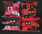 Set Of 8 Chicago Bulls/ Blackhawks Cornhole Bean Bags Top Quality FREE SHIPPING on eBay