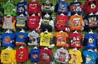 Lot Clothes New Baby Toddler Boy s Long / Short Sleeve T Shirt 6 and 12 Gift Set