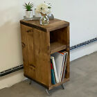 Industrial Vinyl/DVD Storage Unit with Hairpin Leg Record Player TV Unit SID005