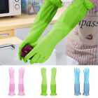 Long Sleeve Dishwashing Gloves Thick Warm Household Kitchen Cleaning Supplies
