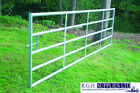 Heavy Duty 5 Bar Cattle Yard Metal Field Gate Strong For Stock/Security 3'-16'