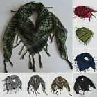 Mens Womens Arab Tactical Desert Army Shemagh Check KeffIyeh Scarf Wrap Winter