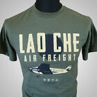 Lao Che Air Freight Retro Film T-Shirt Indiana Jones Tempel Doom Grün