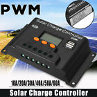 100A PWM Solar Panel Regulator Battery Charger Controller 12/24V With LCD USB