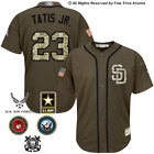 NEW Fernando Tatis Jr. San Diego Padres Salute to Service Military Camo Jersey on Ebay