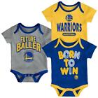 Golden State Warriors Infant Creeper Set Lil Tailgater 3 Pack on eBay