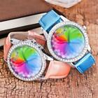 Colorful Waterproof Wrist Student Quartz Women's Watches Band US Watches Leather image