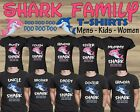 Baby Shark Doo Doo Kids T-shirt Daddy Mommy Shark Family Funny Matching T shirt
