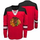 Chicago Blackhawks Youth NHL Perennial Long Sleeve Lace Up Shirt  - Red $34.95 USD on eBay