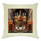 Rave Cushion Cover Nun And Bass Party Collage Raving Religious Soundsystem