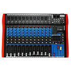 6/8/12 Channels bluetooth Audio Mixer Professional Stage US Power Digital Effect photo