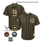 NEW Javier Baez Chicago Cubs Salute to Service Military Camo Jersey Bryant Rizzo on Ebay