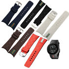 26mm Rubber replacement Watch Strap Band For I-Gucci Digital Men's Watch image