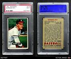 1951 Bowman #278 Norman Roy Braves PSA 7 - NMBaseball Cards - 213