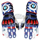 BMW Motorrad MotoGp Motorbike Racing Leather Gloves All Sizes Available