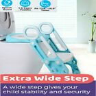 Boys & Girls Toddler Potty Training Foldable Toilet Seat Step Ladder Safe Chair image