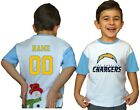 Los Angeles Chargers Personalized Toddler Football Jersey NFL Kids Shirts Gift $11.9 USD on eBay