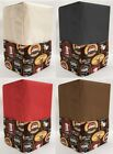 Canvas Morning Coffee Coffee Maker Cover
